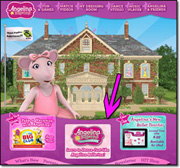 Angelina Ballerina website