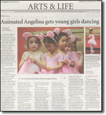 Angelina Ballerina at the School of Music & Dance